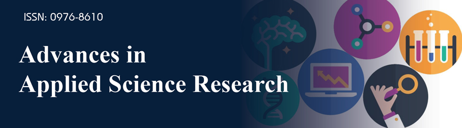 Advances in Applied Science Research