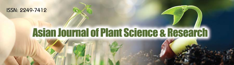 Asian Journal of Plant Science & Research