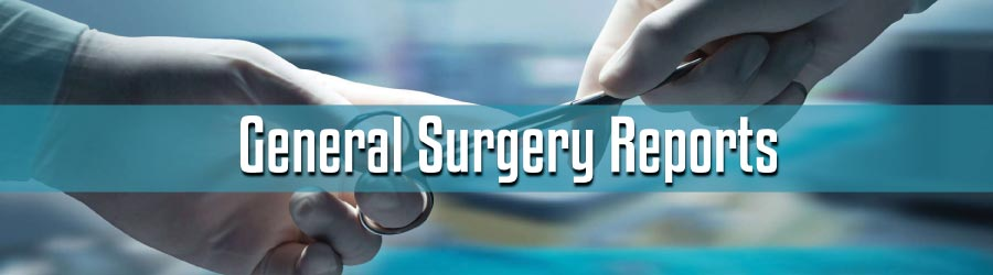 General Surgery Reports