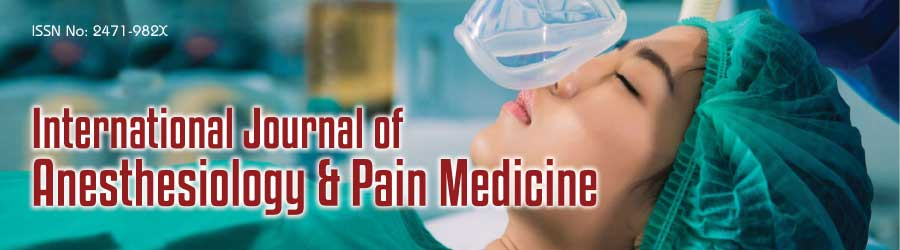 International Journal of Anesthesiology & Pain Medicine