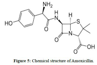 der-chemica-sinica-Chemical-structure-Amoxicillin